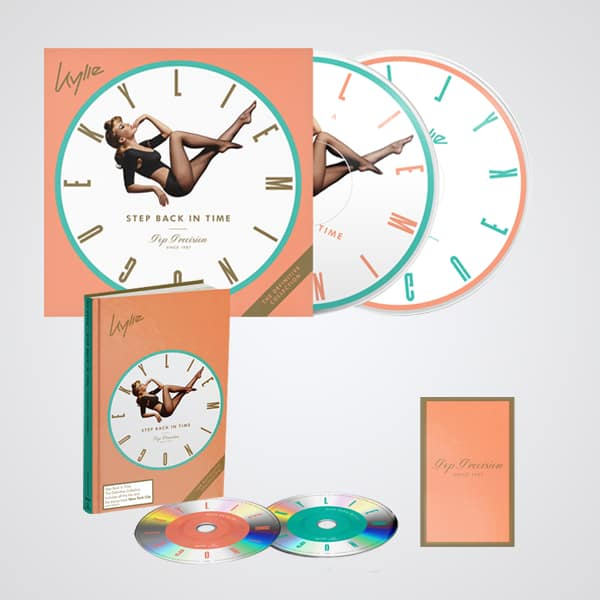 Buy Online Kylie - Step Back In Time - Bundle #1 (Includes Choice Of Cassette)