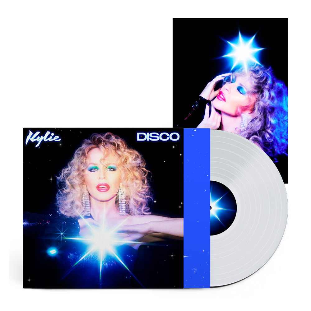 Buy Online Kylie - Disco Clear + Photograph (Exclusive)