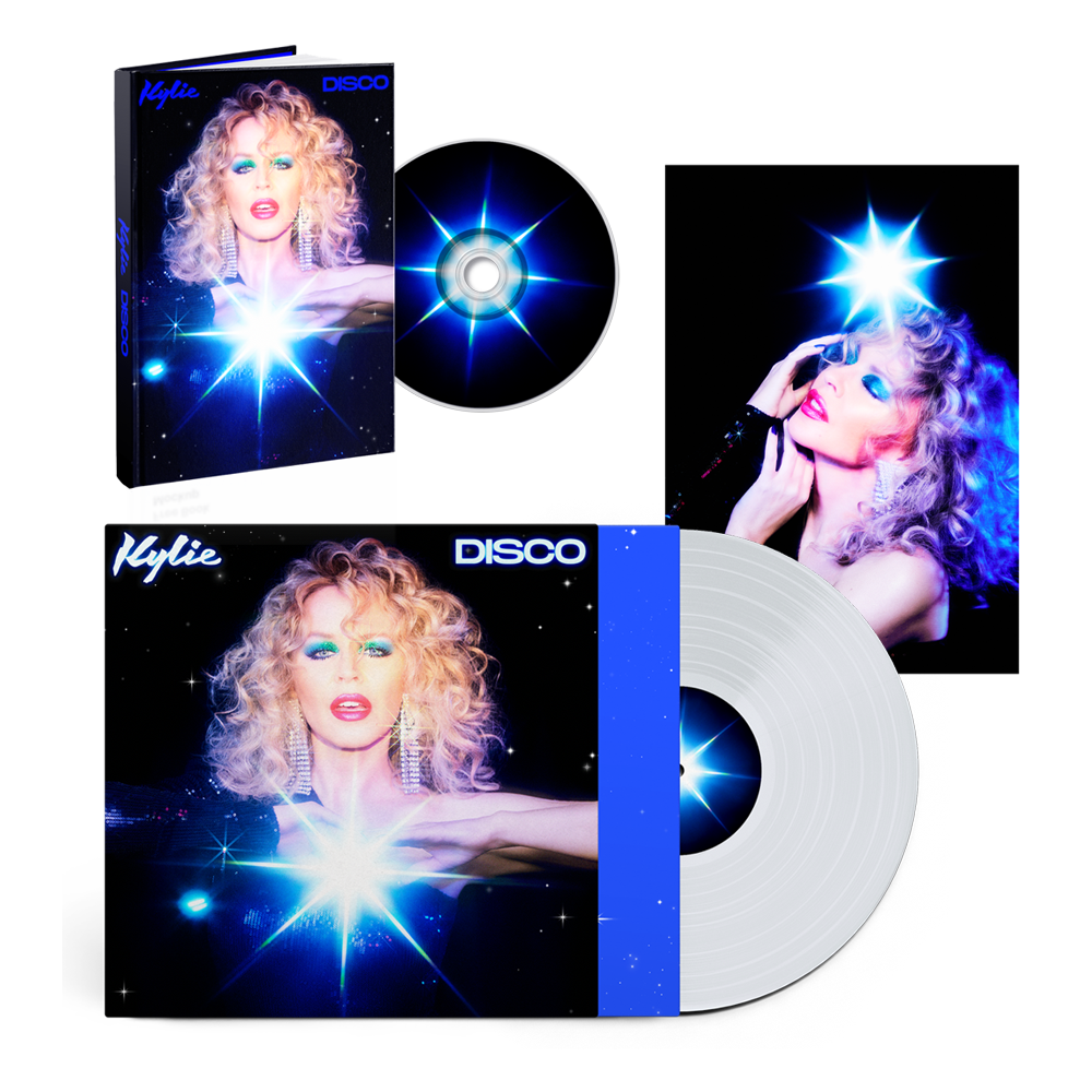 Buy Online Kylie - Disco Deluxe CD Album (Exclusive) + Clear Vinyl (Exclusive) + Photograph (Exclusive)