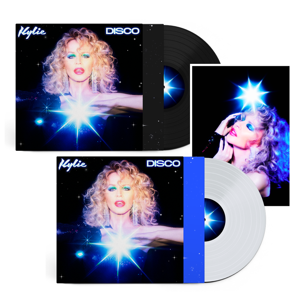 Buy Online Kylie - Disco Vinyl + Clear Vinyl (Exclusive) + Photograph (Exclusive)