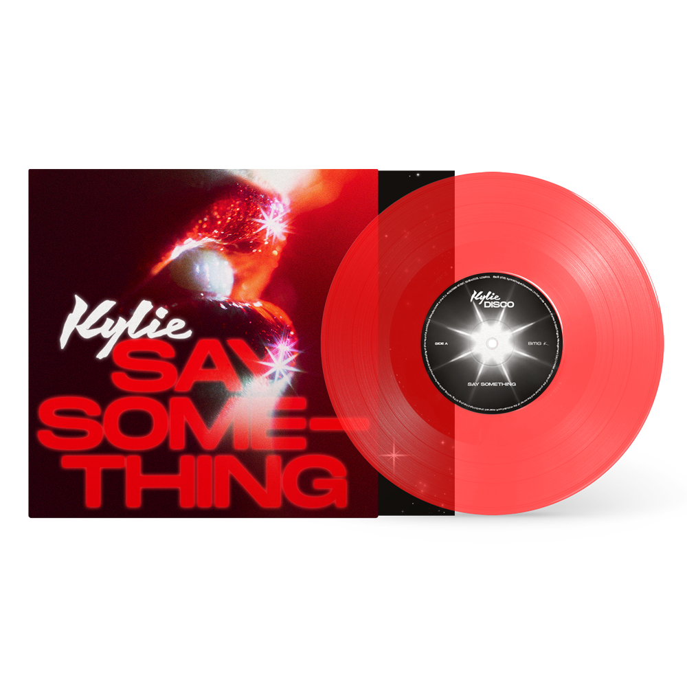 Buy Online Kylie - Say Something Transparent Red