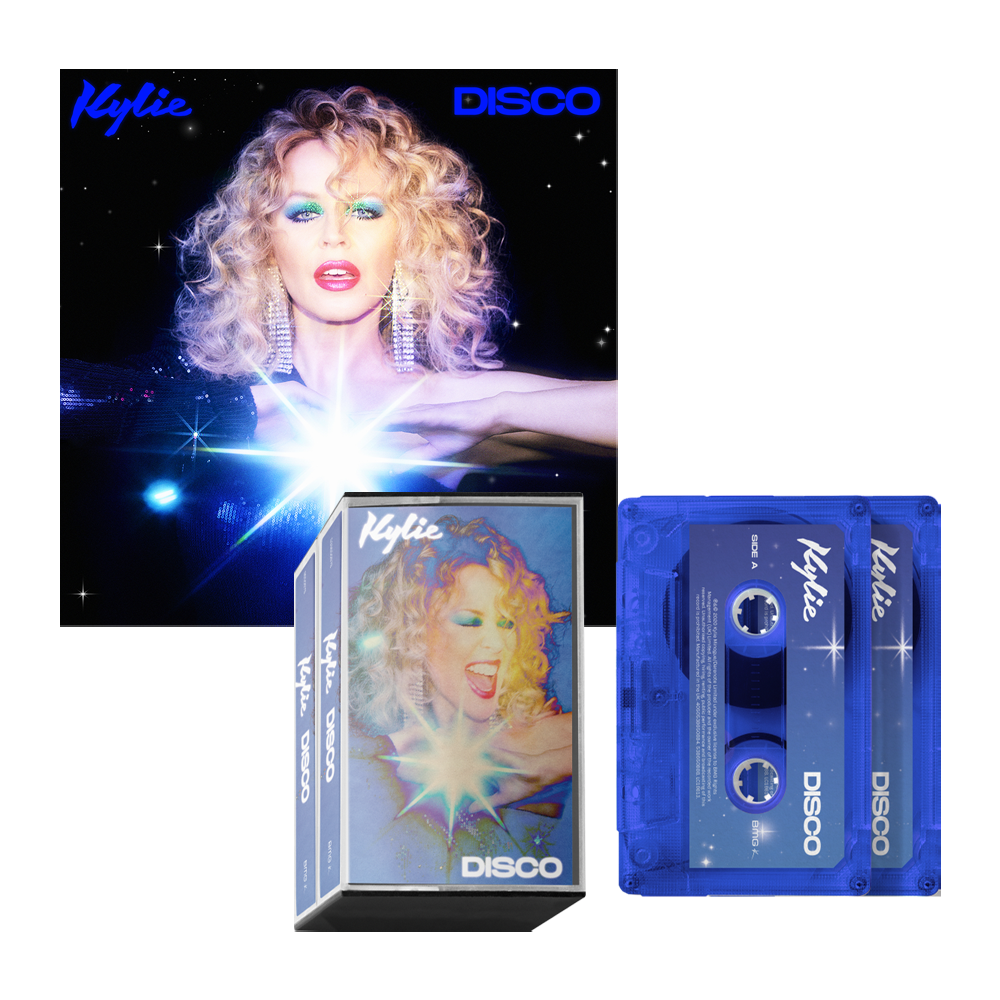 Buy Online Kylie - Disco Digital Super Deluxe Edition Download + Double Blue Cassette (Exclusive)