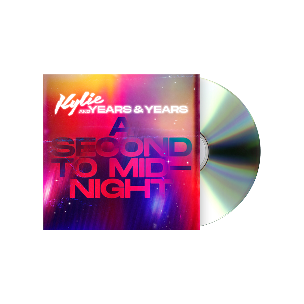 Buy Online Kylie Minogue and Years & Years - A Second To Midnight CD Single