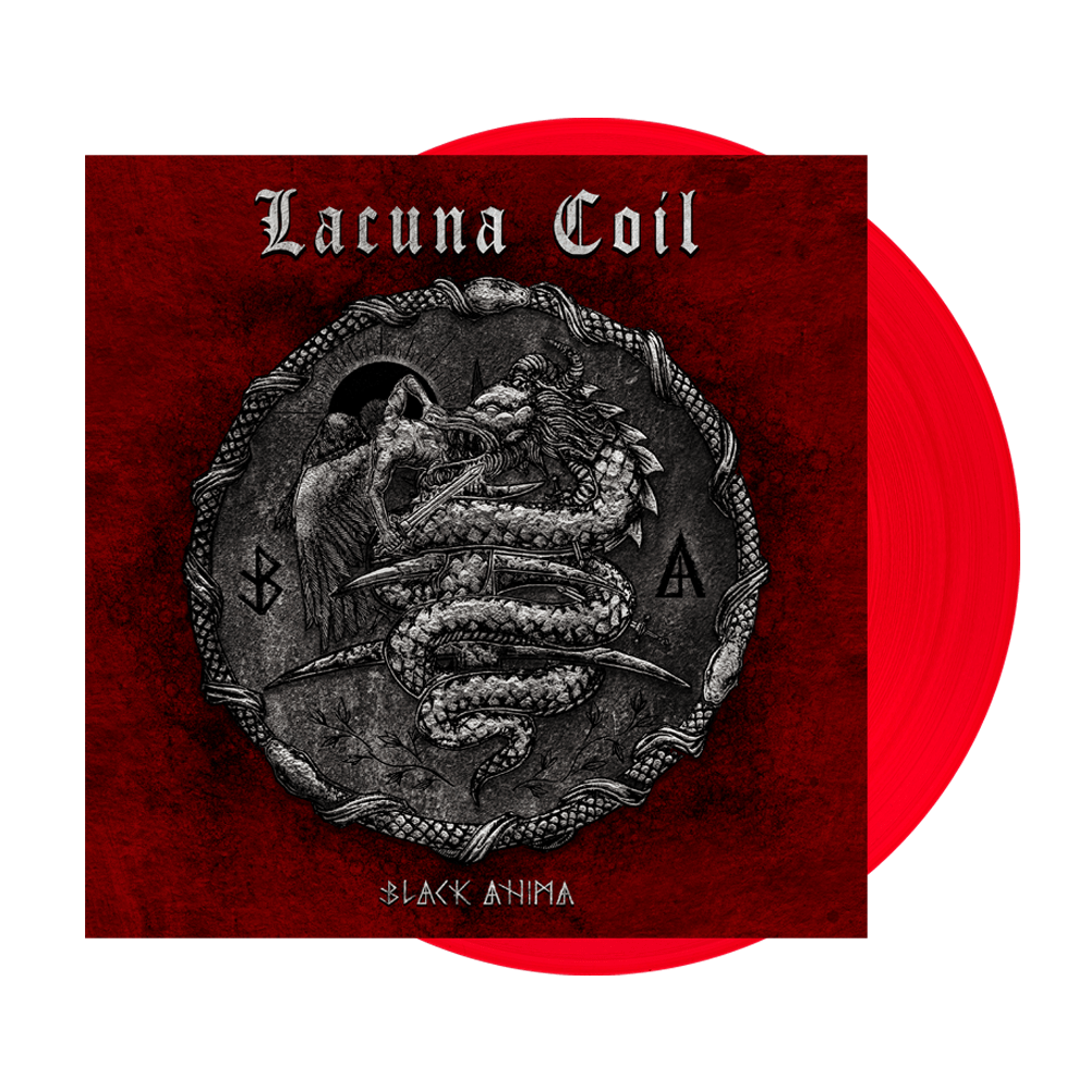 Buy Online Lacuna Coil - Black Anima Red