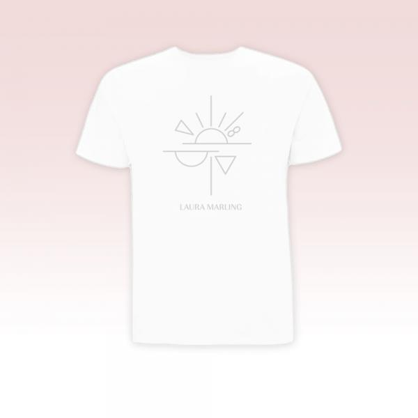 Buy Online Laura Marling - Semper Femina Grey Print T-Shirt