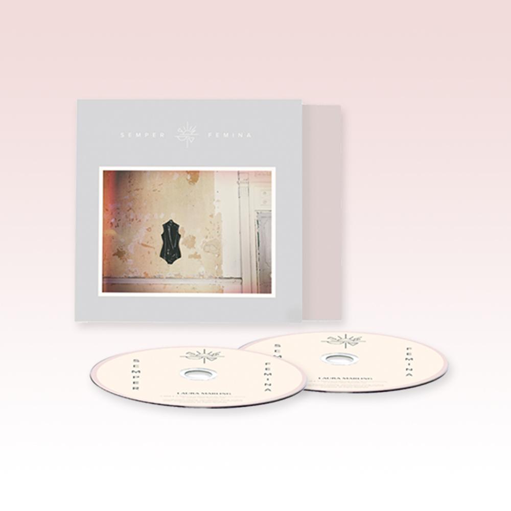 Buy Online Laura Marling - Semper Femina Deluxe Live 2CD Album
