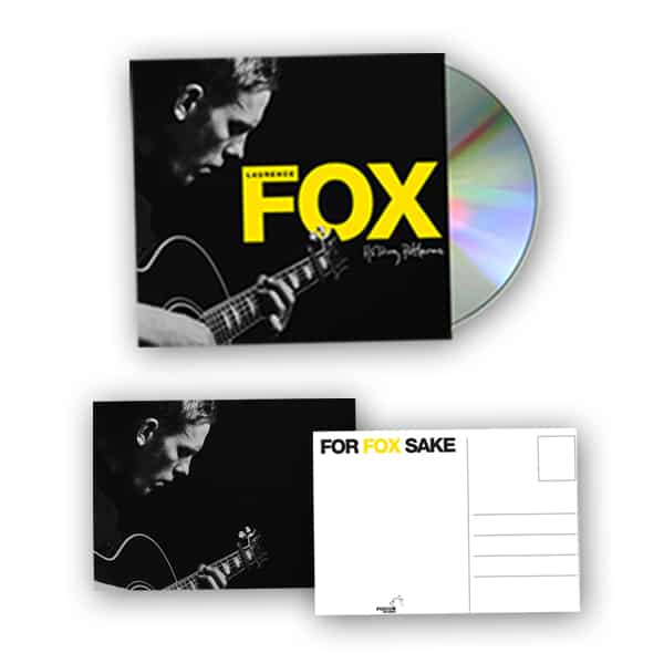 Buy Online Laurence Fox - Holding Patterns CD + A6 Postcard