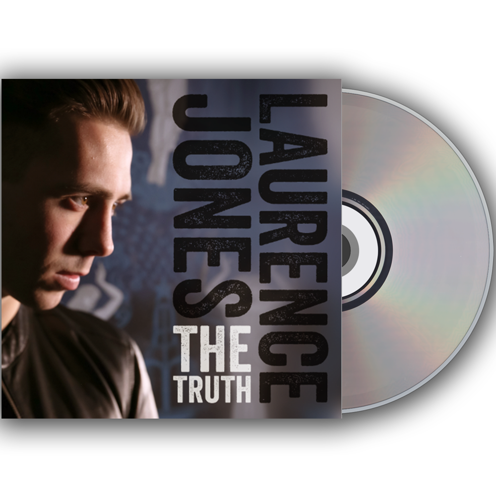 Buy Online Laurence Jones - The Truth CD (Signed)