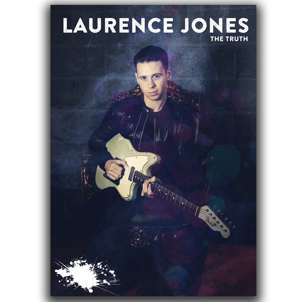 Buy Online Laurence Jones - Limited Edition A2 Poster Signed & Numbered