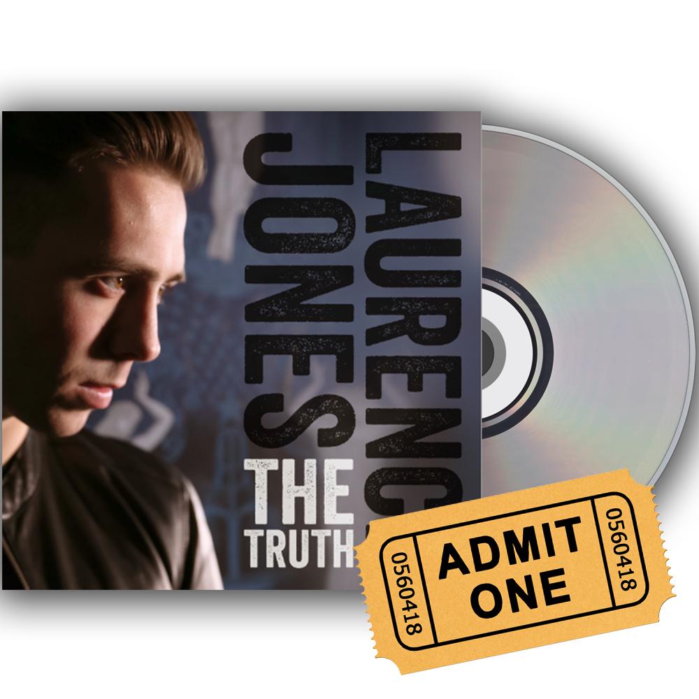 Buy Online Laurence Jones - The Truth CD + Gig Ticket