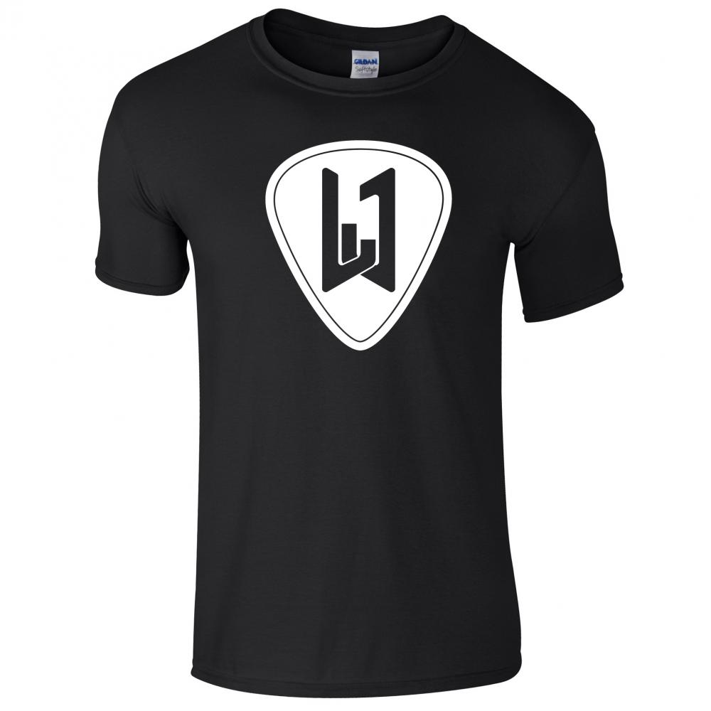 Buy Online Laurence Jones - Black Logo T-Shirt