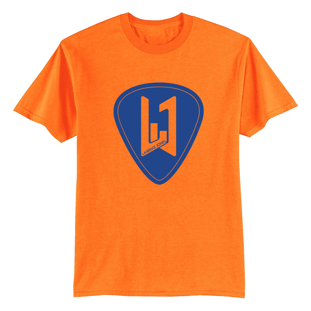 Buy Online Laurence Jones - Orange Logo T-Shirt