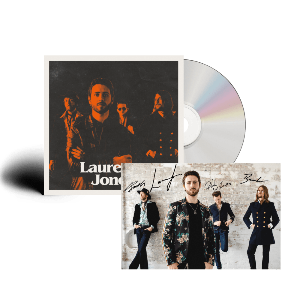 Buy Online Laurence Jones - Laurence Jones Band (Signed)