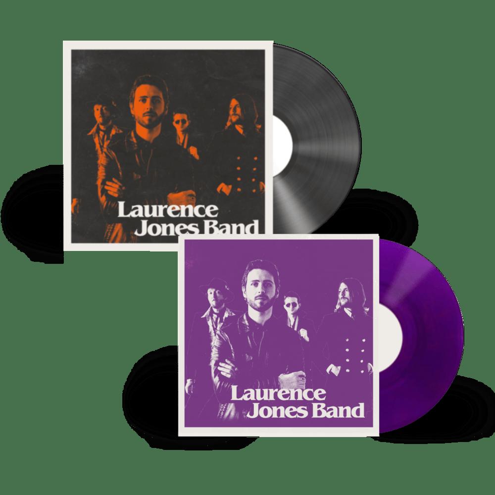 Buy Online Laurence Jones - Laurence Jones Band Black Vinyl + Coloured Vinyl (Signed)