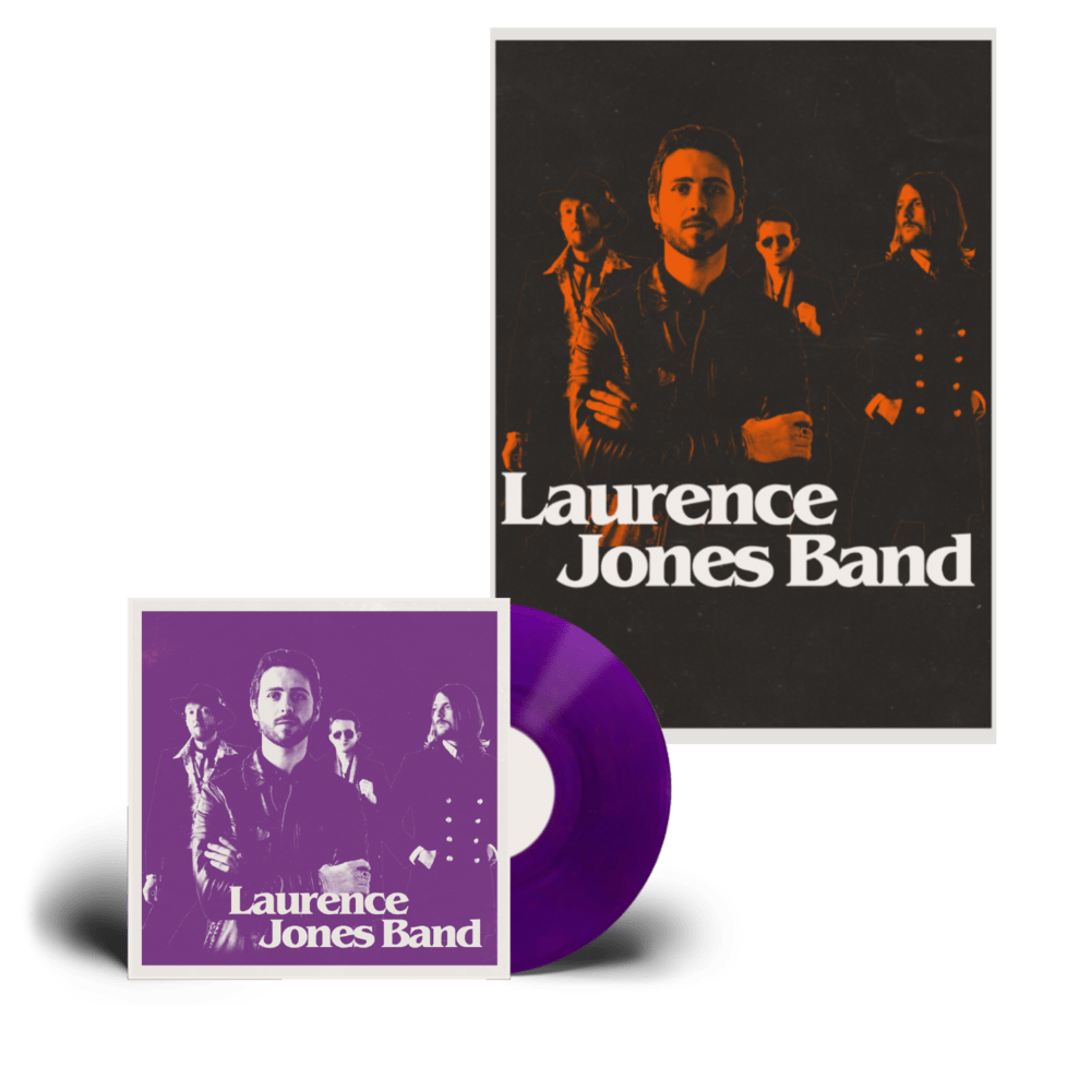 Buy Online Laurence Jones - Laurence Jones Band Coloured Vinyl (Signed) + A2 Numbered Poster