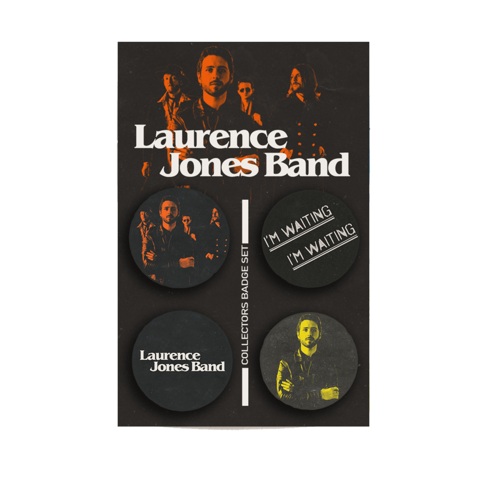 Buy Online Laurence Jones - Ltd Edition Collectors Badge Set