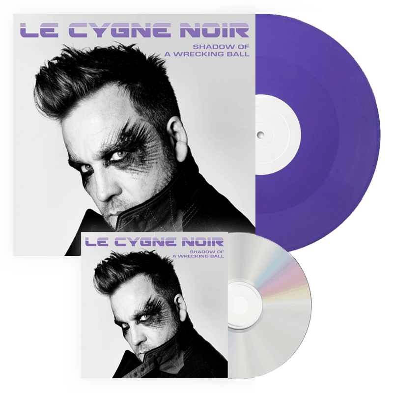 Buy Online Le Cygne Noir - Shadow Of A Wrecking Ball CD + Vinyl Bundle