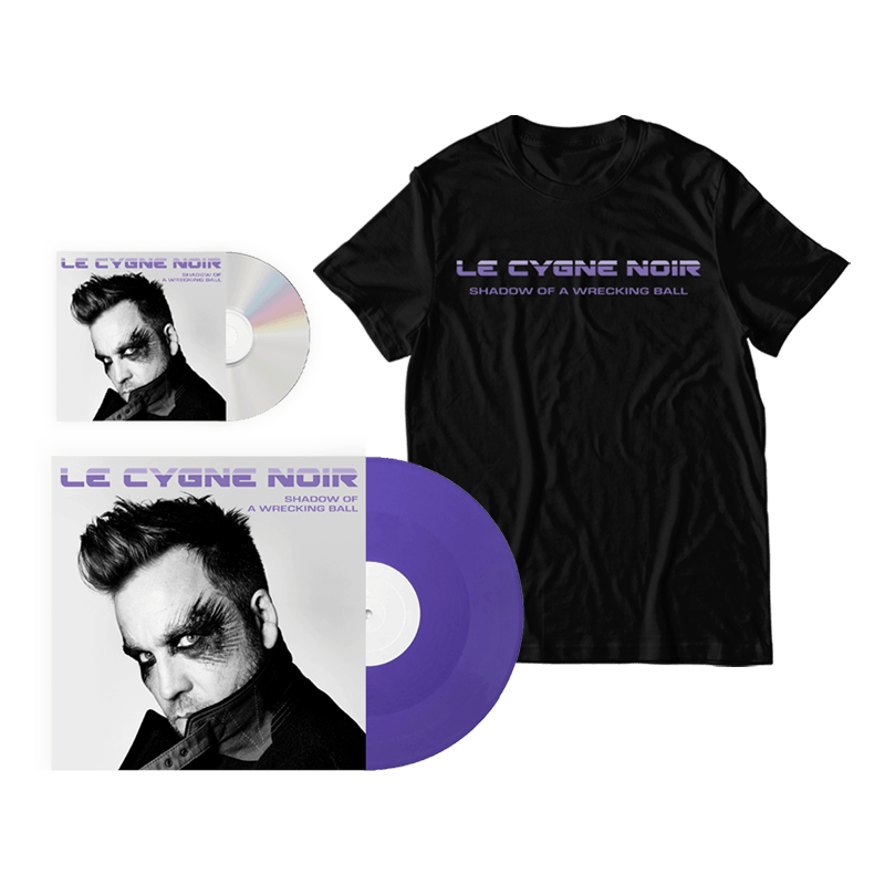 Buy Online Le Cygne Noir - Shadow Of A Wrecking Ball CD + Vinyl + T-Shirt Bundle