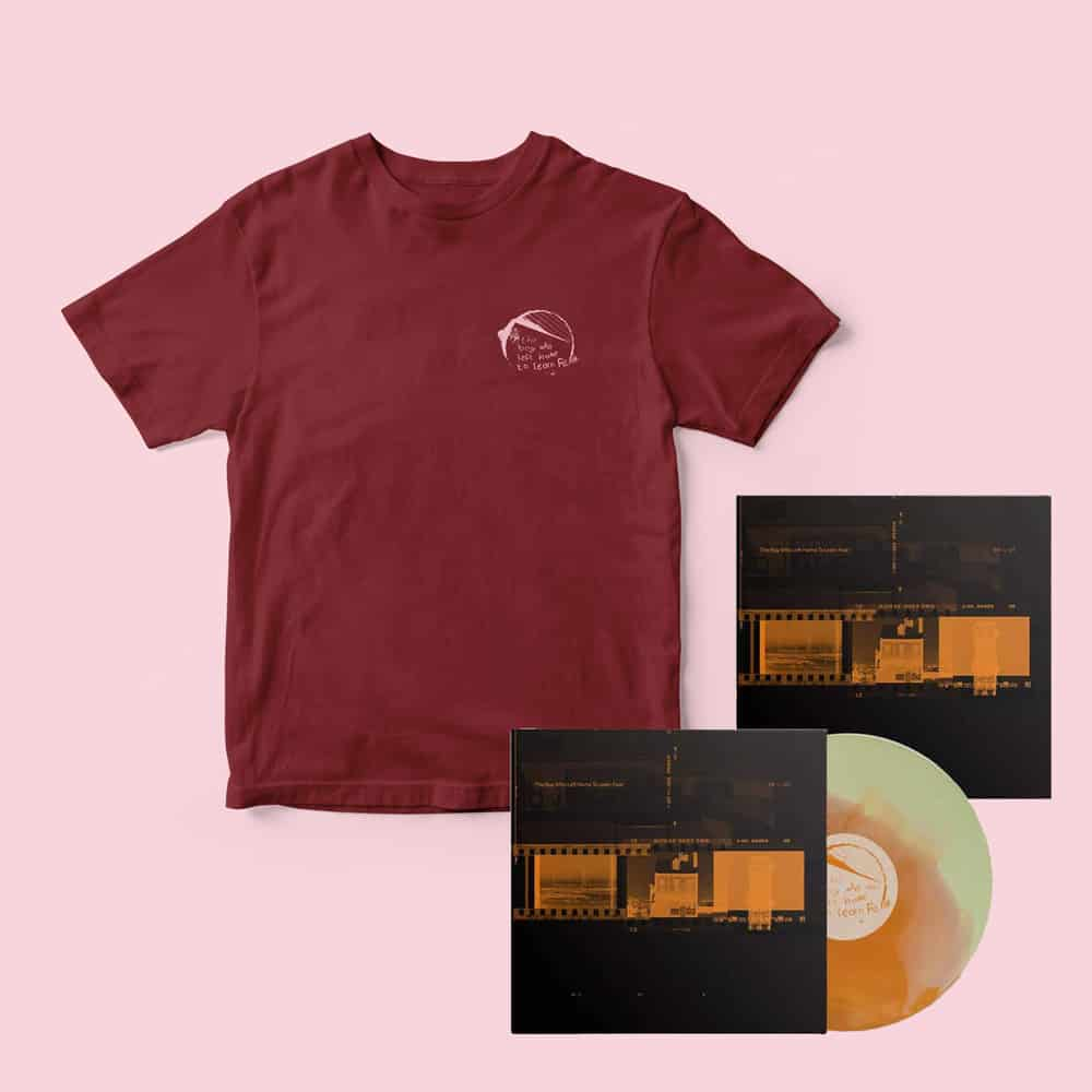 Buy Online The Boy Who Left Home To Learn Fear - The Boy Who Left Home To Learn Fear EP-01 Vinyl + EP-01 Print + Red T-Shirt