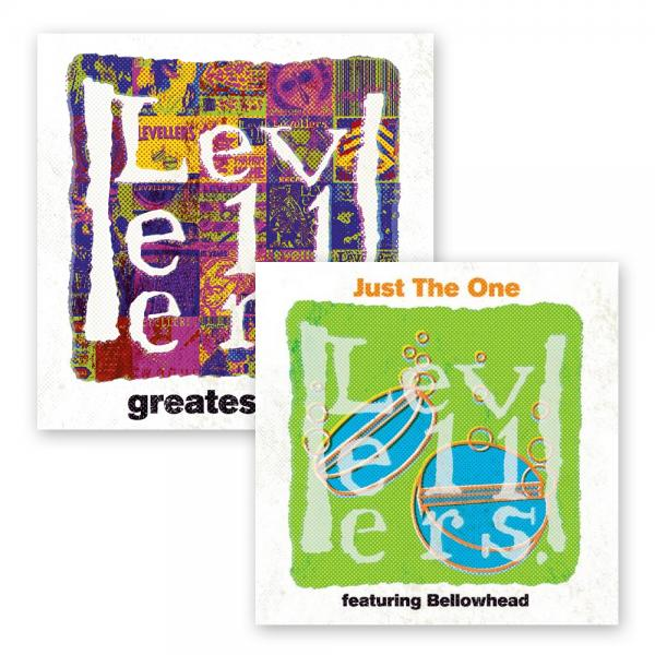 Buy Online The Levellers - Greatest Hits 2CD/DVD + Just The One CD EP (Signed)