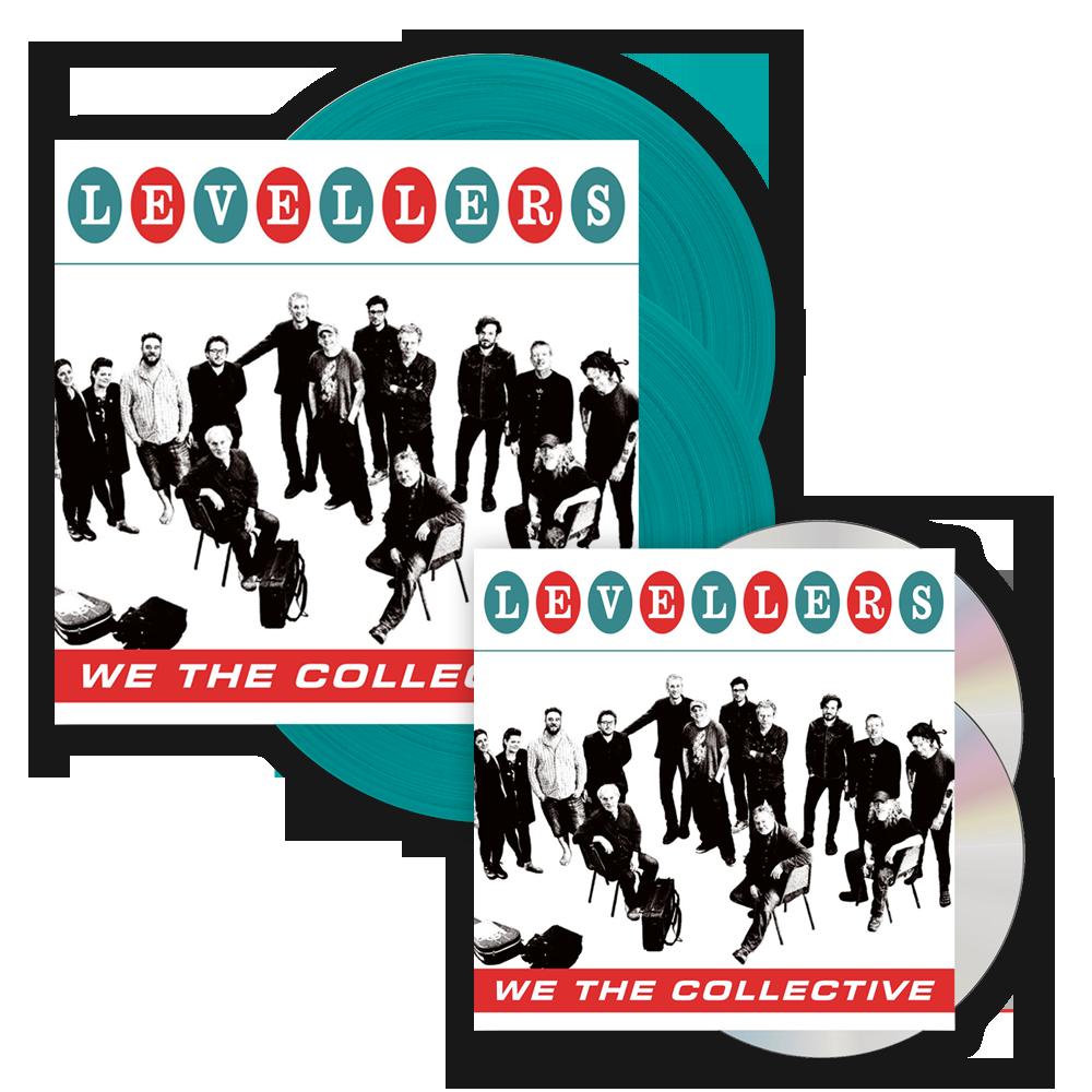 Buy Online The Levellers - We The Collective Deluxe CD + Deluxe Coloured Vinyl LP