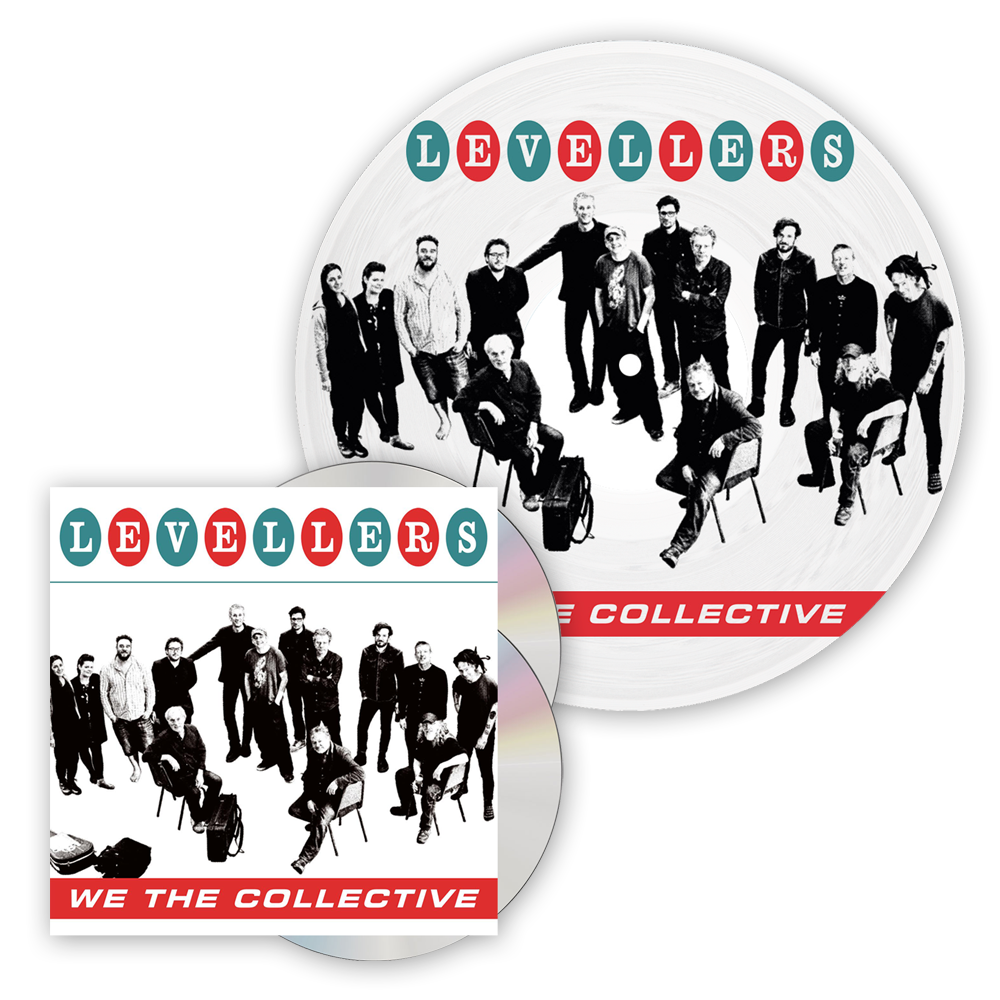 Buy Online The Levellers - We The Collective Deluxe CD + Picture Disc Vinyl LP