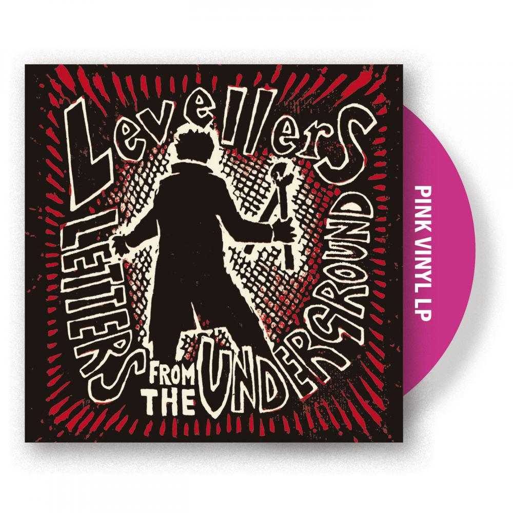 Buy Online The Levellers - Letters From The Underground Pink Vinyl LP