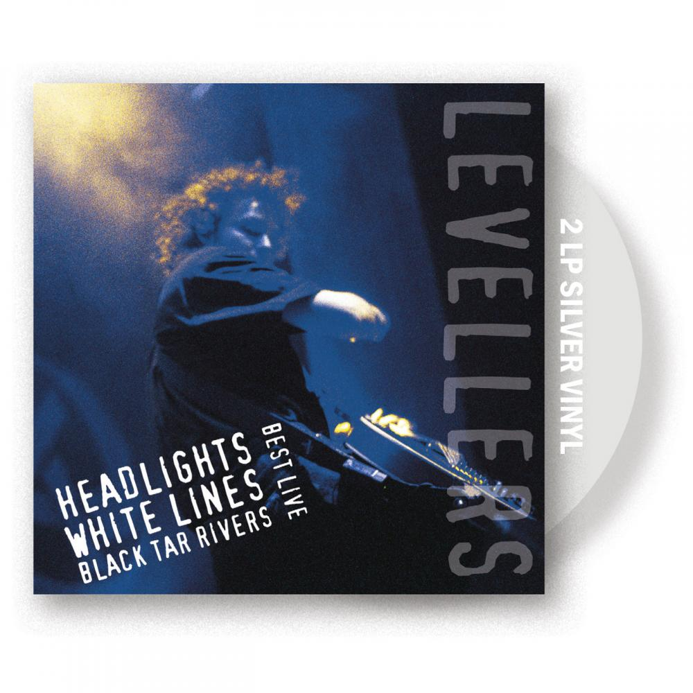 Buy Online The Levellers - Headlights, White Lines, Black Tar Rivers Silver Vinyl 2LP