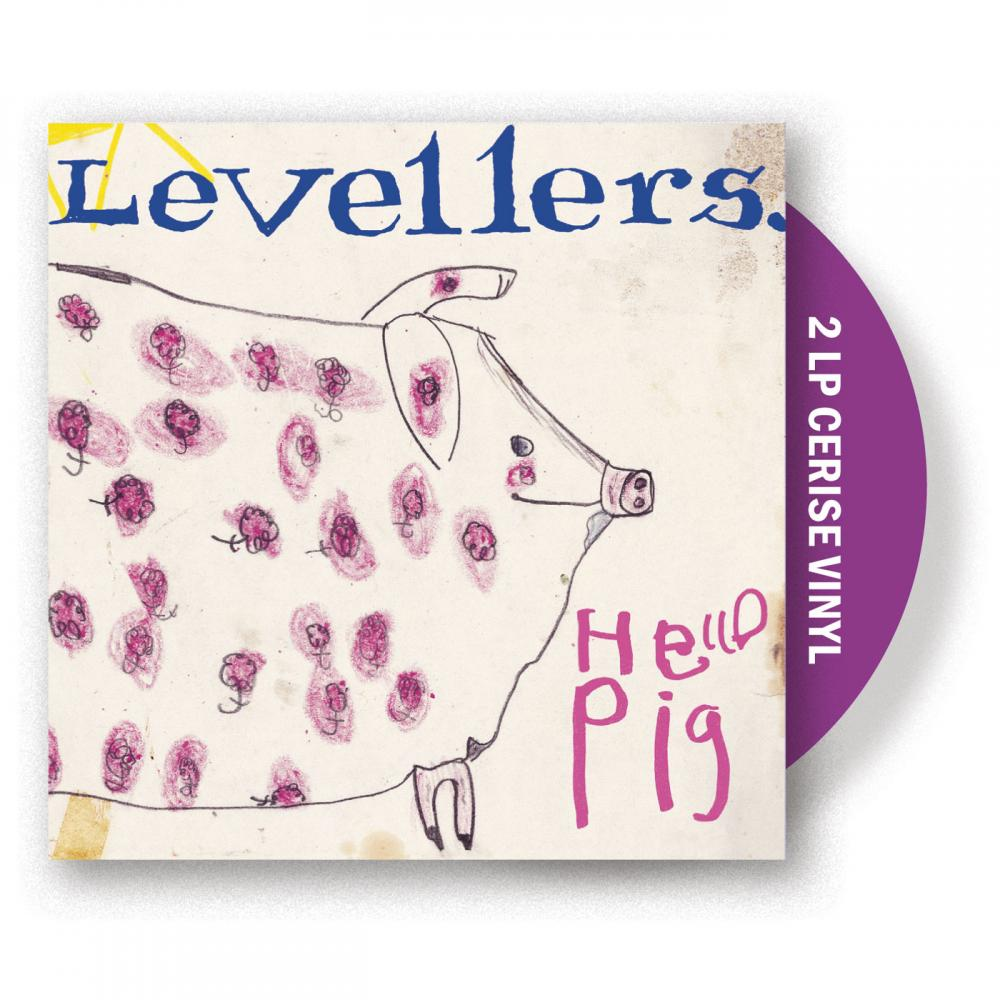 Buy Online The Levellers - Hello Pig Cerise