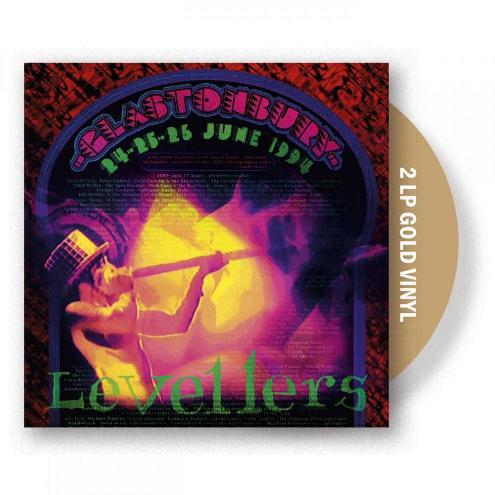 Buy Online The Levellers - Glastonbury '94 Gold Vinyl 2LP