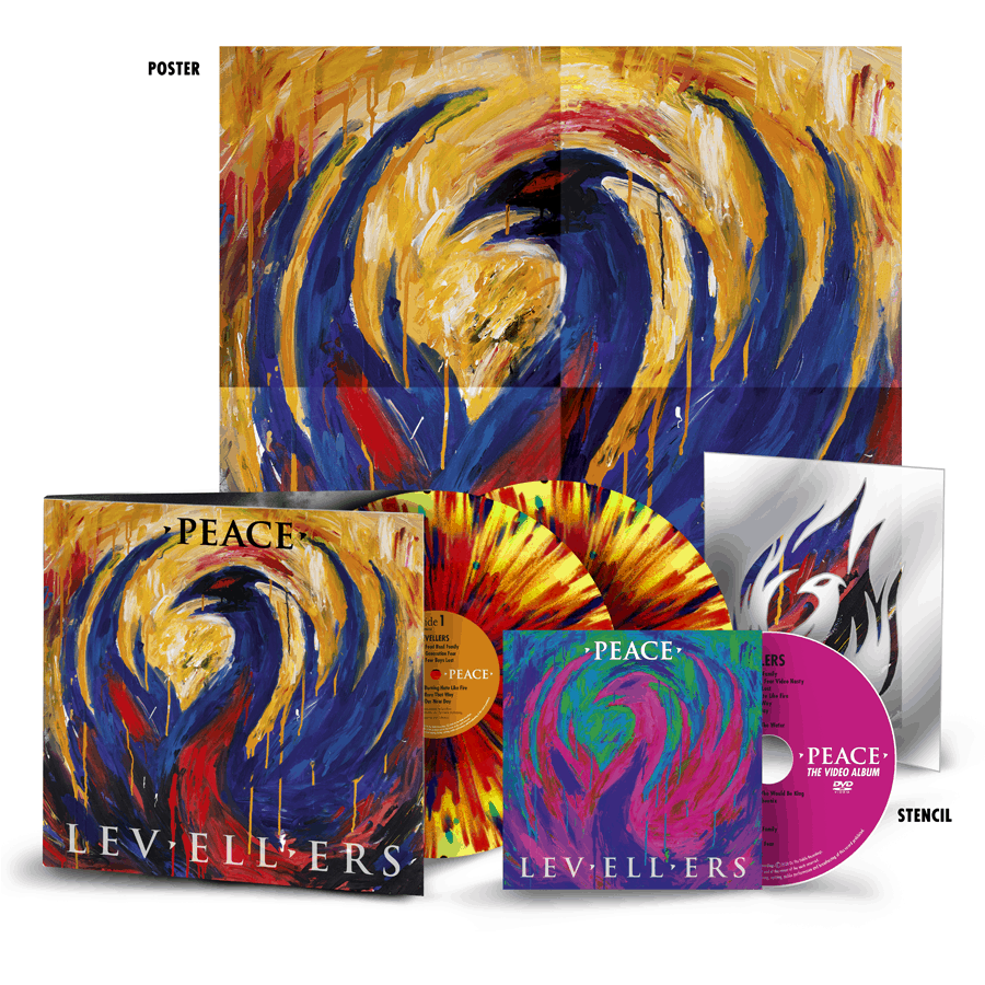 Buy Online Levellers - Peace Super Deluxe Coloured Double vinyl (Signed)