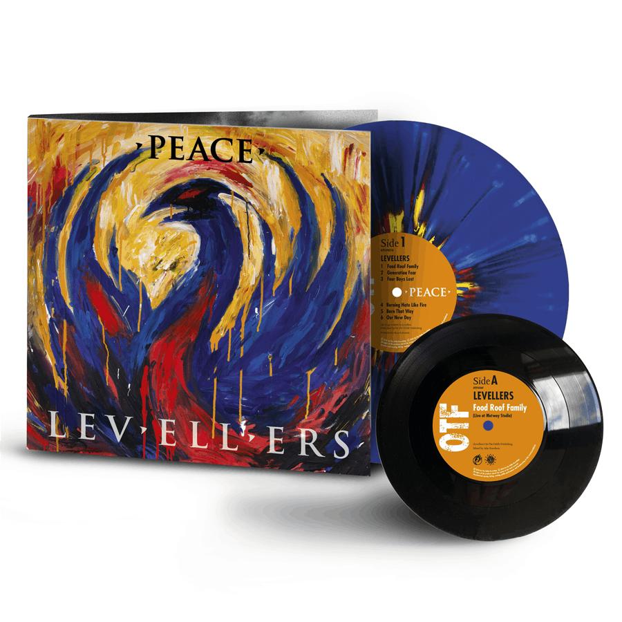 Buy Online Levellers - Peace Deluxe Splatter Vinyl + 7-Inch (Signed)