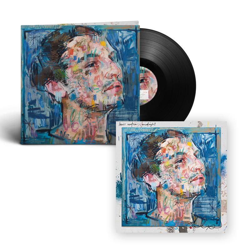 Buy Online Lewis Watson - midnight lp + signed 12x12 art print
