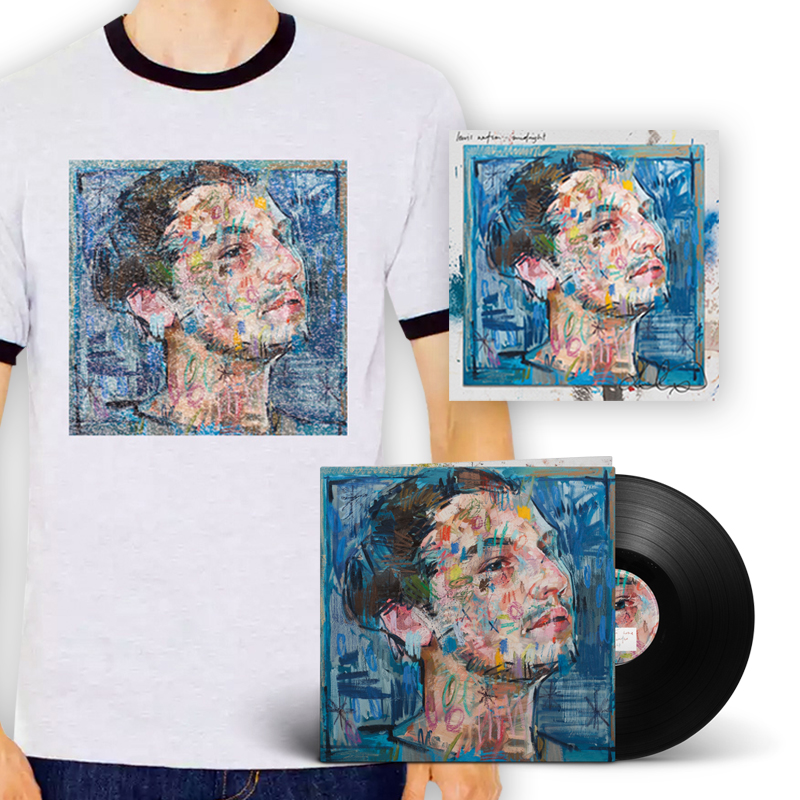Buy Online Lewis Watson - midnight lp + signed 12x12 art print + tee