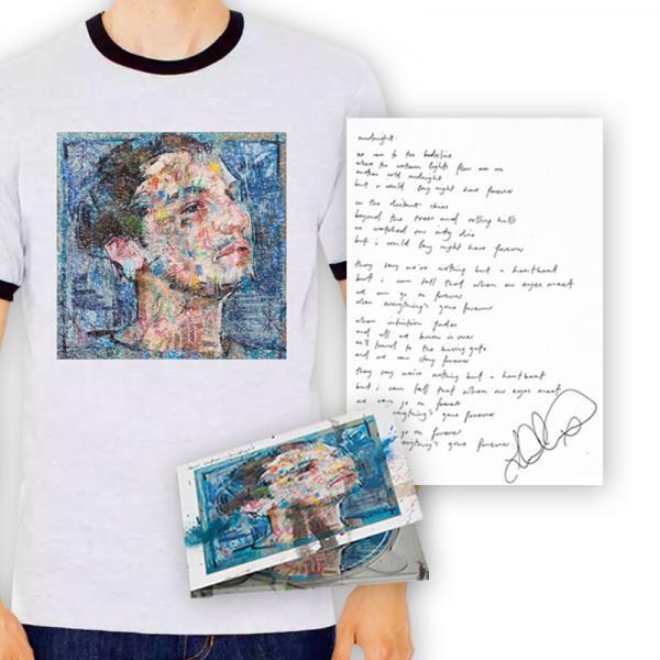 Buy Online Lewis Watson - midnight cd album + signed lyric print + tee