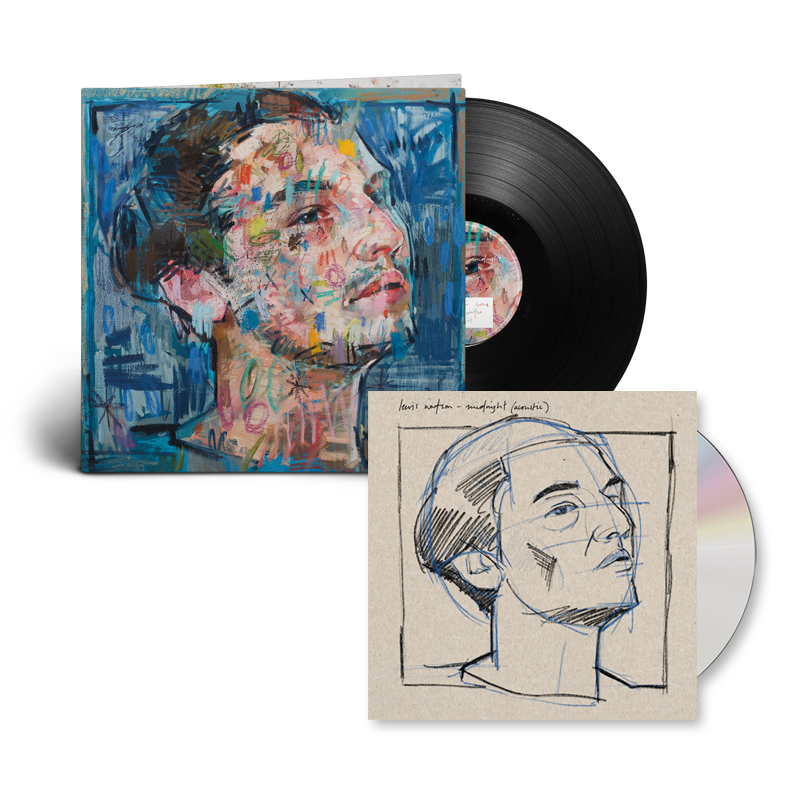 Buy Online Lewis Watson - midnight (acoustic) cd (signed) + midnight lp