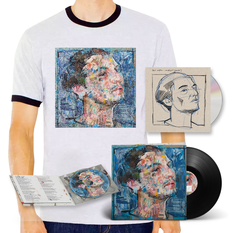 Buy Online Lewis Watson - midnight (acoustic) cd (signed) + midnight cd + midnight lp + t-shirt