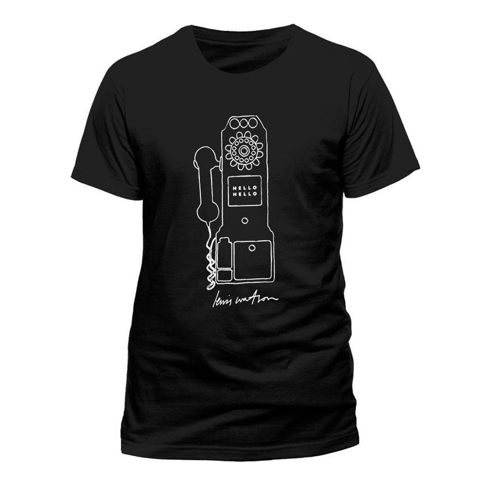 Buy Online Lewis Watson - Phone Black T-Shirt