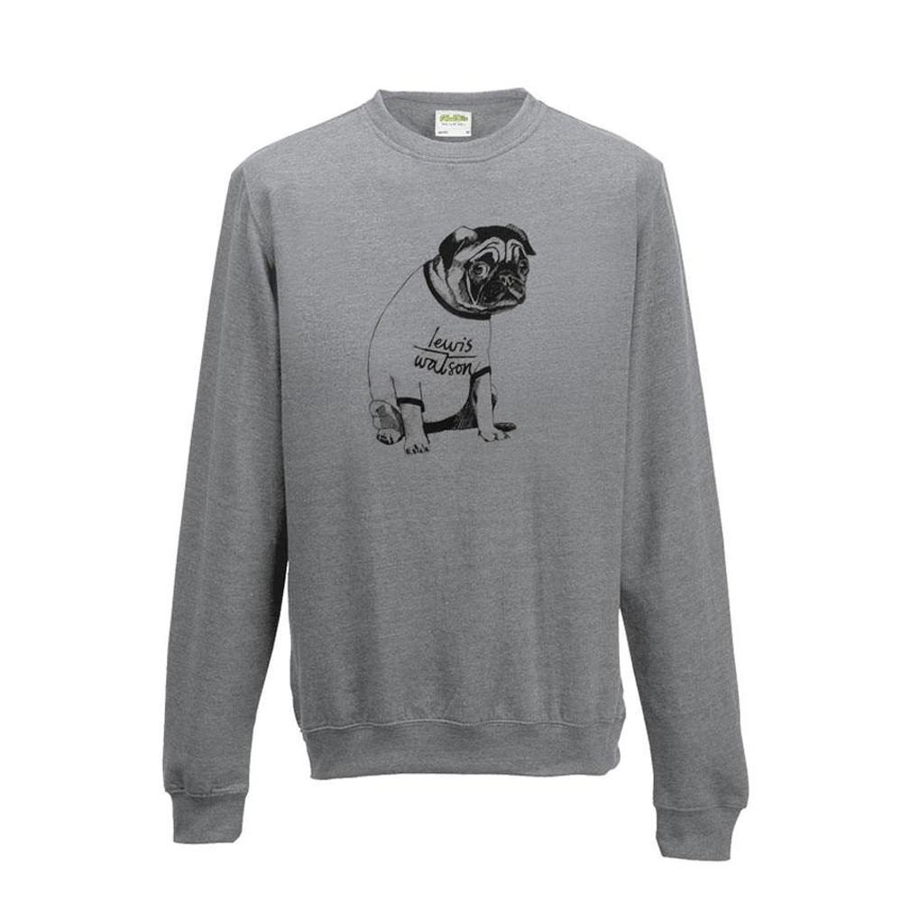 Buy Online Lewis Watson - Pug Jumper
