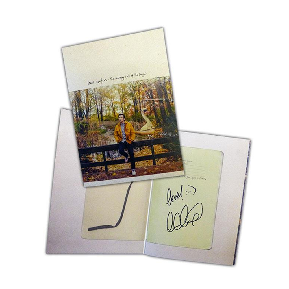 Buy Online Lewis Watson - The Morning Deluxe CD Album (Signed)