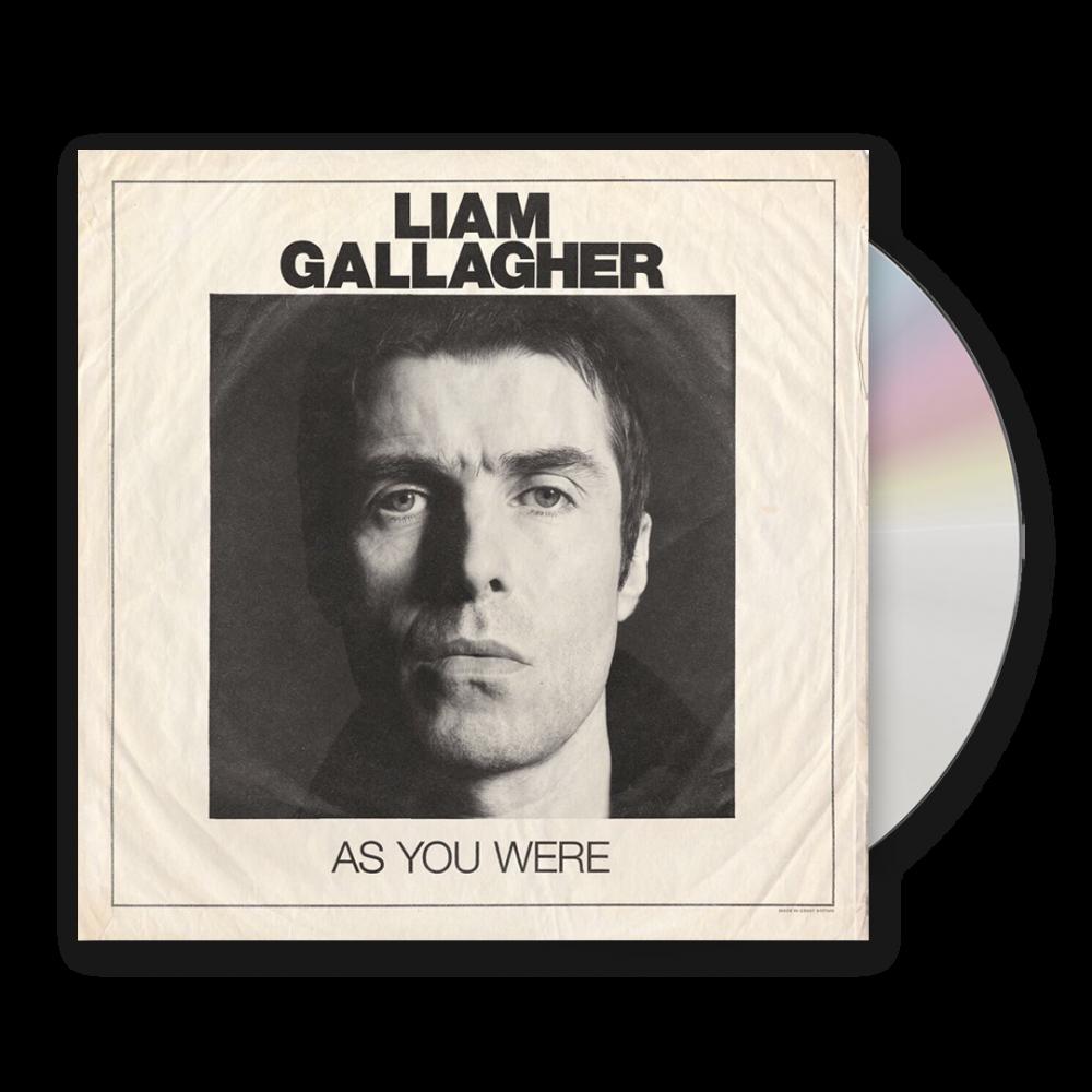 As You Were CD Album CD
