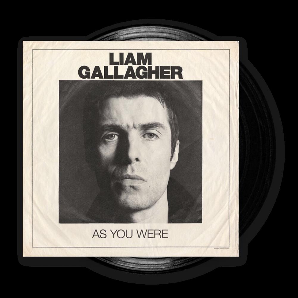 As You Were Black Vinyl LP Heavyweight LP