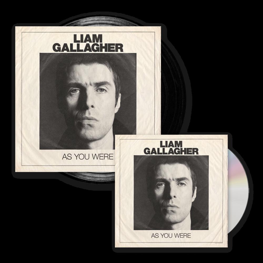 As You Were Deluxe CD + Black Vinyl LP