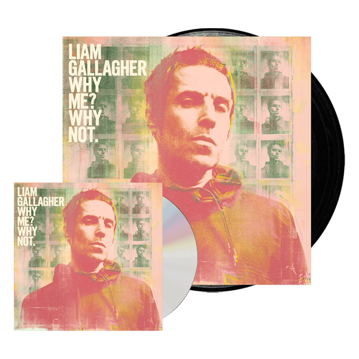 Why Me? Why Not. Deluxe CD + Vinyl