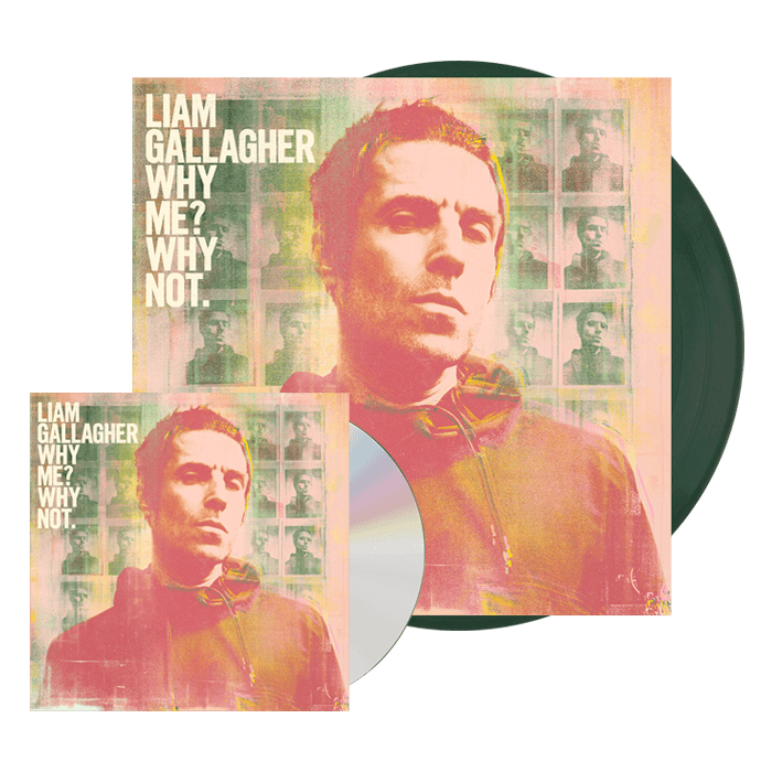 Buy Online Liam Gallagher - Why Me? Why Not. Deluxe CD + Bottle Green Vinyl
