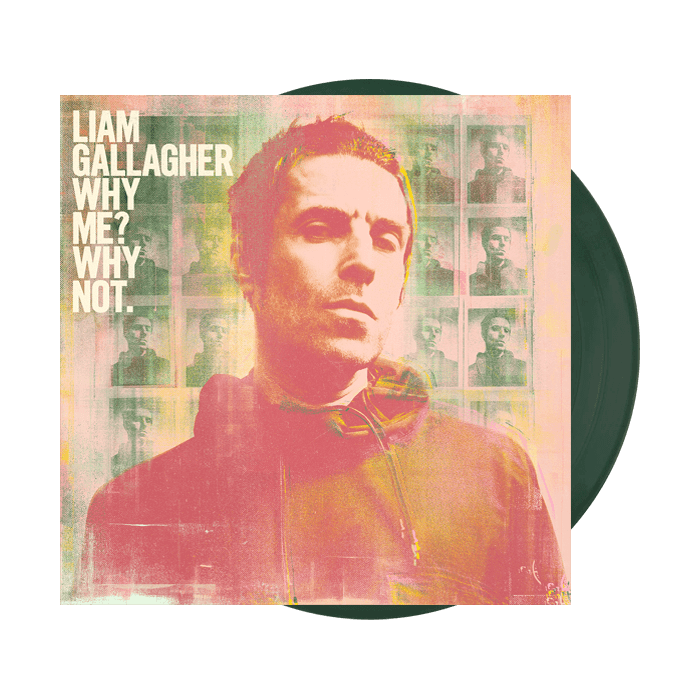 Buy Online Liam Gallagher - Why Me? Why Not. Bottle Green