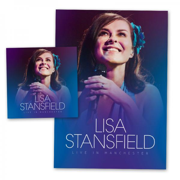 Buy Online Lisa Stansfield - Live In Manchester 2CD Album (+ Exclusive Signed Litho Print)