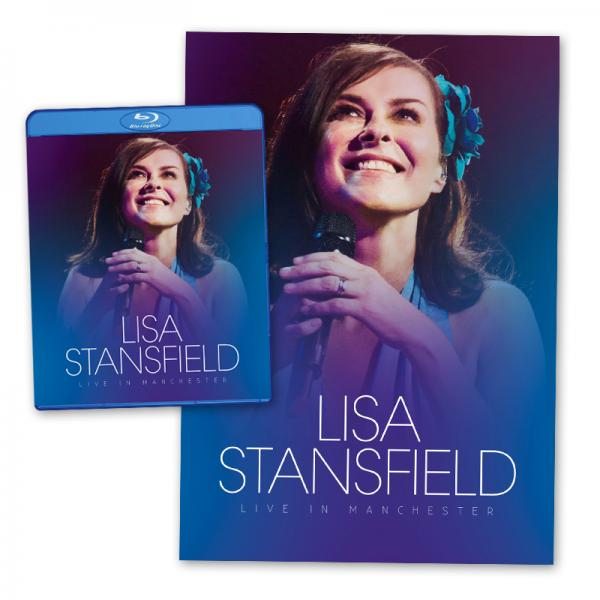Buy Online Lisa Stansfield - Live In Manchester Blu-Ray (+ Exclusive Signed Litho Print)