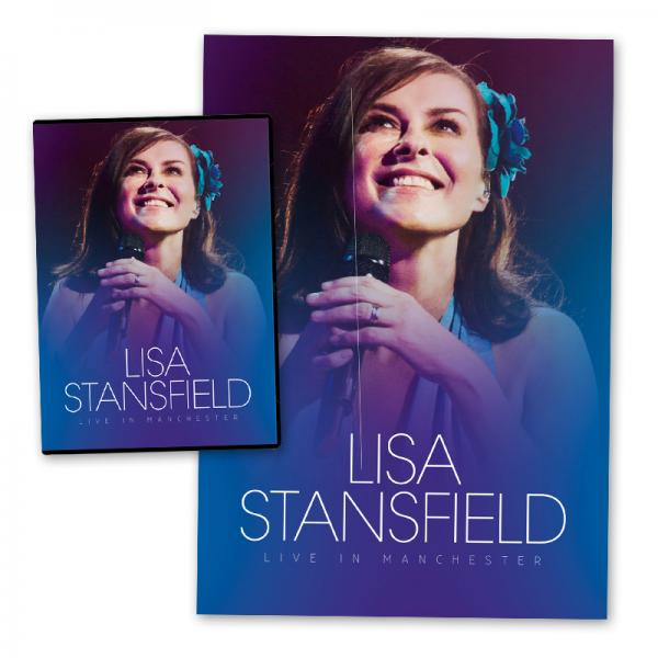 Buy Online Lisa Stansfield - Live In Manchester DVD (+ Exclusive Signed Litho Print)