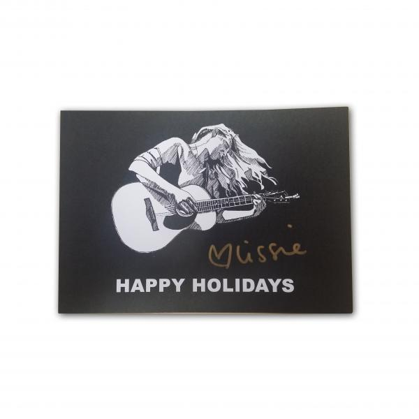 Buy Online Lissie - Signed Happy Holidays Postcard